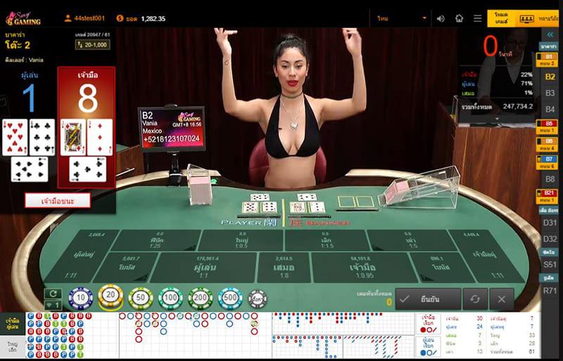 บาคาร่า บิกินี่ จากเว็บ sexy Gaming